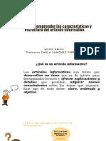 5°-Lenguaje-Clase-ARTICULO-INFORMATIVO-PPT