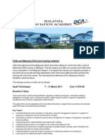CAAI and Malaysia DCA joint training initiative2