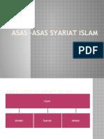 Asas –asas syariat islam