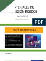 MATERIALES DE IMPRESION RIGIDOS