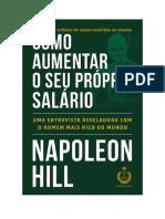 Baixar Como aumentar o seu próprio salário Livro Grátis (PDF ePub Mp3) - Napoleon Hill