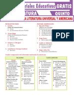 Literatura Universal y Americana