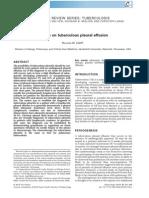update on tuberculous pleural effusion