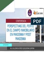 Perspectivas Del Perito en El Campo Inmobiliario En