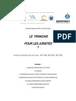 Le français pour les juristes (P. Kellnerová)