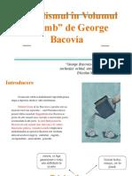 """Simbolismul În Volumul """"Plumb"""" de George Bacovia"""