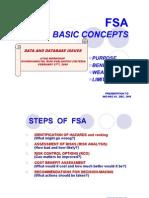 fsa basic concepts
