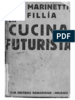 F.T. Marinetti e Fillìa La Cucina Futurista