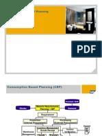 Consumption Based Planning