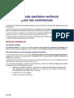Protocole Sanitaire Renforce Commerces