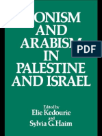 Zionism and Arabism