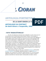 Emil Cioran - Antologia portretului 1.0 10 '{ClasicRo}
