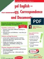legal english seminar