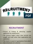 Recruitment,Types of recruitment