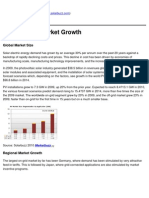 Solarbuzz - Solar Energy Market Growth - 2011-02-21