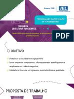Programa de Qualificação de Fornecedores IEL - Fornecedor