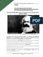 Resumen de algunos aportes de Carl Marx en la actualidad