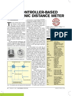Ultrasonic Distance Meter