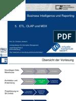 05_BIR_ETL, OLAP und MDX