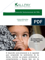 DESARROLLO SOCIO EMOCIONAL