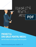 Brochure Environment Project