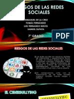 RIESGOS DE LAS REDES SOCIALES