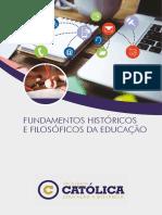 06-3612_Fundamentos Históricos e Filosóficos Da Educação