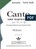 Canto uma expressão_CD parte 1