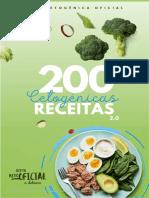 200 Receitas Cetogênicas