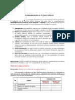 Criterios de Evaluación de Socialización ACTUALIZADOS 2020