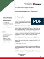 Guía Nº2 Trabajo de Investigación - Instalaciones Domiciliarias
