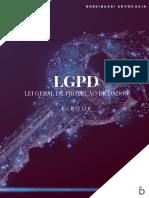 E-book - Lei Geral de Proteção de Dados e Marketing Digital
