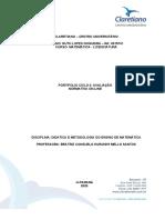 Portfólio 1 - Didática