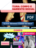 PSICOLOGIA Reich Estrutura Corpo e to Social