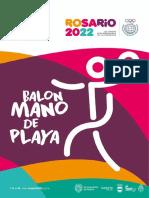 Manual de Balonmano de Playa