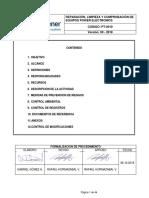 PROCEDIMIENTO DE TRABAJO SEGURO. REPARACION, LIMPIEZA Y COMPROBACIÓN DE EQUIPOS POWER ELECTRONICS AES GENER 2018 (002)