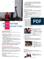 Trento, le regole per i monopattini