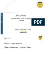 Curs Ceccar Implicatii Brexit Accize Vama Martie 2021