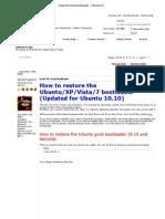 Grub_XP_Vista Bootloader - Ubuntu Forums