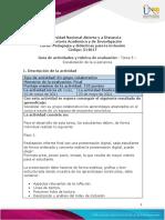 Guía de actividades y rúbrica de evaluación - Tarea 5 – Socialización de la experiencia (2) (1)