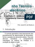 DTM - Capítulo 4 - Indicação de Tolerância Geométrica