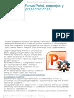 Trucos para PowerPoint, consejos y tips al hacer presentaciones