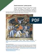 """Apuntes de """"Articulando Formaciones"""", Primera Jornada"""