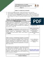 MATRIZ DE EVALUACIÓN B1 - EL PASADO EN EL PRESENTE