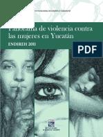 censo violencia mujer yucatán