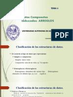 datos compuestos indexaddos arreglos