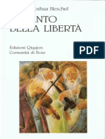 Il Canto Della Libertà. La Vita Interiore e La Liberazione Delluomo by Abraham J. Heschel