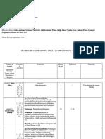 Planificarea Calendaristica a Disciplinei-limba Germana