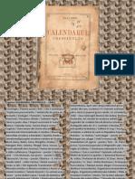 CALENDARUL CRESTINULUI - 1949. Editura Episcopiei Ortodoxe Române - ORADEA