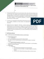 Protocolo de conformación de comité